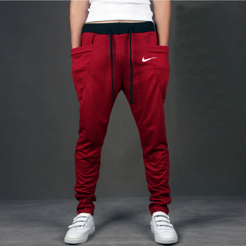 Casual Pants White Suprem-Off JUST Outwear Mens Trousers Big-Pocket Hip-Hop Do-It Quality