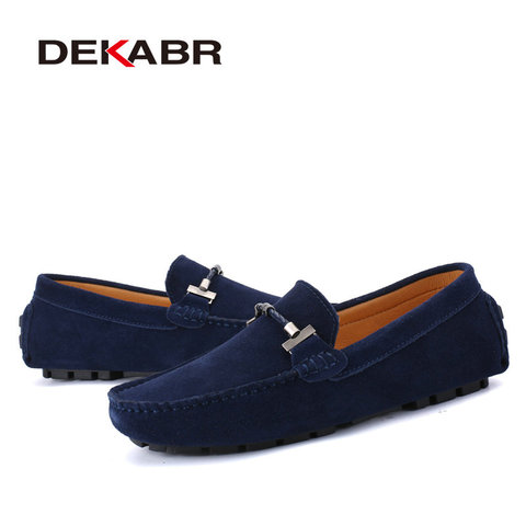 DEKABR Trendy Men Casual Shoes Big Size 38-47 Brand Summer Driving Loafers Breathable Wholesale Man Soft Footwear Shoes For Men Islamabad