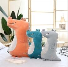 1PC 38/55/70cm Cute Cartoon Crocodile Plush Toy Stuffed Soft Pillow Christmas Gift for Kids Kawaii Valentine Present