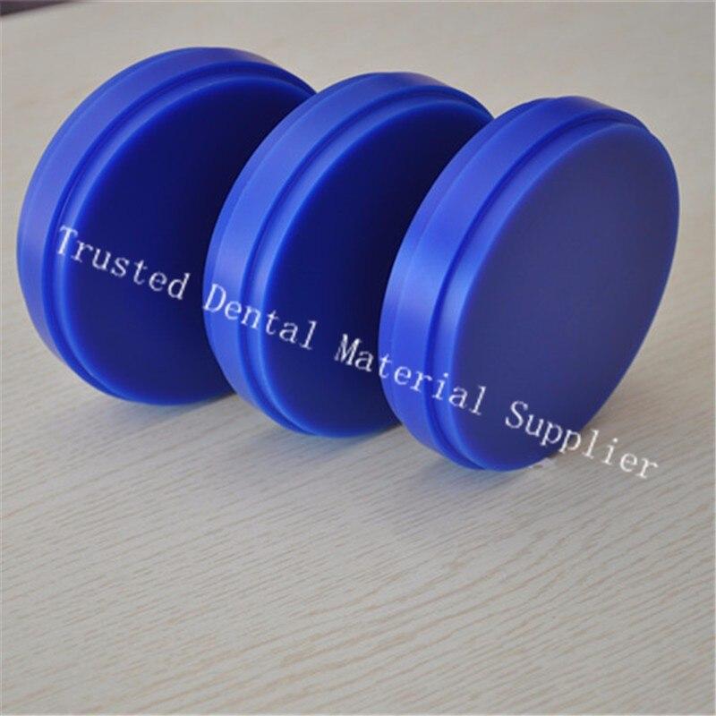 Sample 5 Pieces OD98 10 12 14 16 18 20MM Blue Wax Blocks Carving Wax Blank
