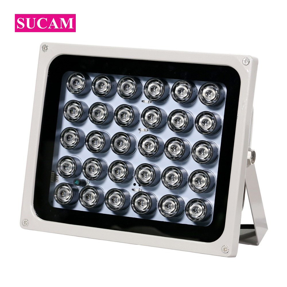 30 Array IR Fill Leds Illuminator Light CCTV Infrared Waterproof Lights for CCTV Camera Night Vision Outdoor azishn cctv 12pcs array leds ir illuminator infrared outdoor waterproof night vision cctv fill light for cctv security camera