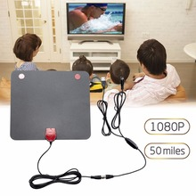 Tv Receiver Amplified TV Antenna HDTV Antenna High Performance High Definition Universal Digital USB Power 1080P Amplified Hdtv