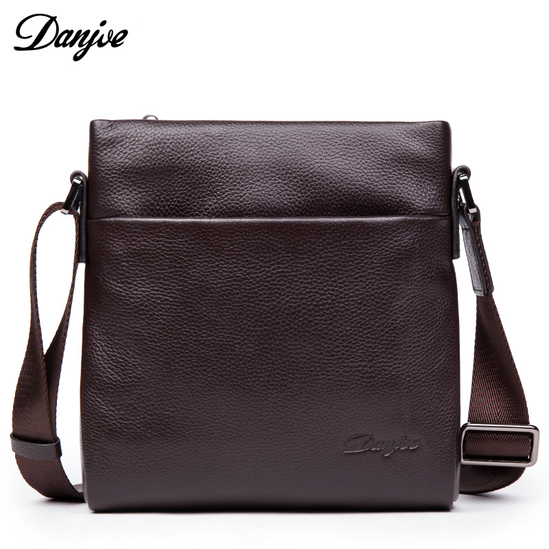 DANJUE New Arrival Crossbody Designer High Quality Genuine Leather Shoulder For Men Real Cowhide Mini Messenger Bags BusinessDANJUE New Arrival Crossbody Designer High Quality Genuine Leather Shoulder For Men Real Cowhide Mini Messenger Bags Business