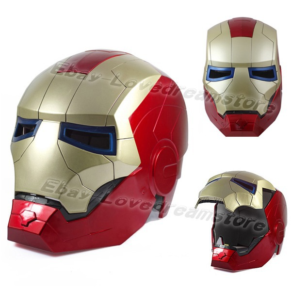 Free shipping japanese animation iron man 3 ironman adult - Masque iron man adulte ...