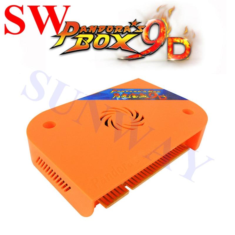 Pandora Box 9D 2222 in 1 arcade version jamma game board VGA HDMI 2222 in 1