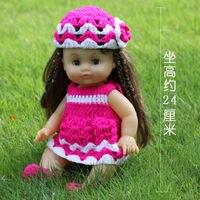 Rink Skirt Newborn Reborn Doll 14 Handmade Black Boy Girl Baby Silicone Vinyl