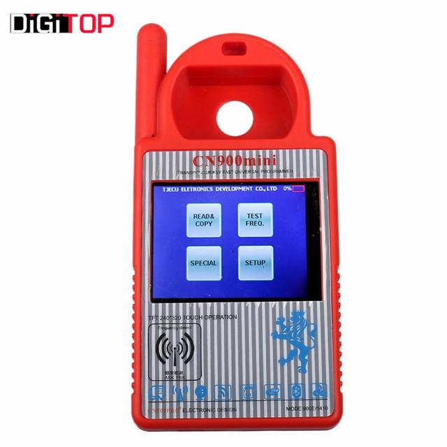Smart cn900 transponder mini programador chave mini cn900 atualização para o mais recente v1.23 apoio atualização online