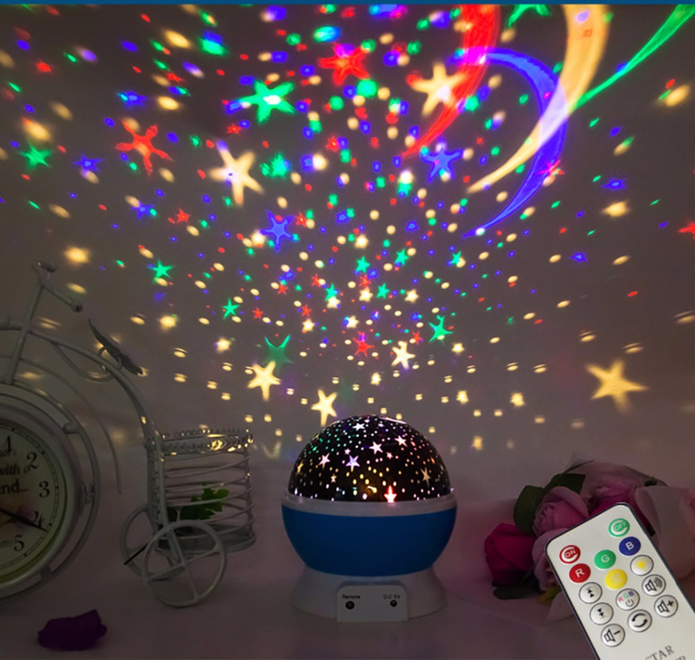 Electronic Toys Have An Inquiring Mind 2019 Rotate Novelty Luminous Toys Romantic Sea Star Led Night Light Projector Battery Usb Sleep Creative Birthday Remote Control Cheap Sales 50%