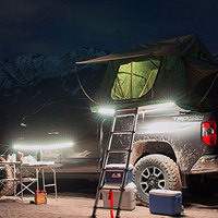 Safety Camping Tent Light LED Strip Touch Button Lamp USB Rechargeable Universal