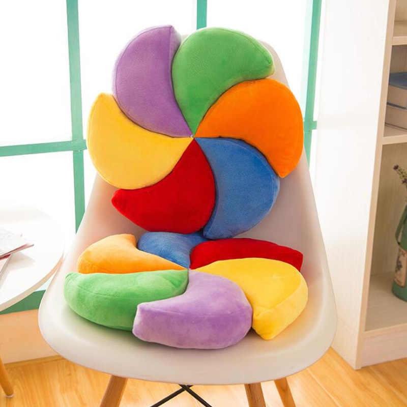 Новая цветная мельница подушка для дома подушка на день рождения Рождественские Подарки плюш игрушка 40 см