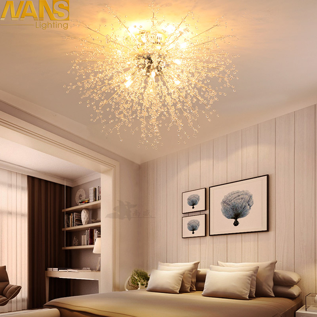 NANS Freeshipping Creative lucency Acryl G4 ceiling lamp dandelion personality modern dining room led ceiling  bedroom lights