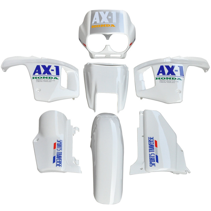 For Honda NX250 AX-1 Sports Traverse White ABS Plastic Fairing Cowl Bodywork Kit Motorcycle New nx1 nx 1 new