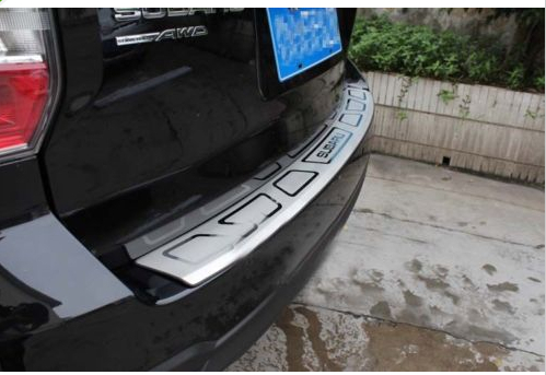 Rear Bumper Sill / Protector Plate Steel cover FOR 2014 Subaru Forester set j40 black steel different trail front bumper w winch plate
