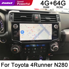 ZaiXi For Toyota 4Runner N280 2009~2019 Car Android GPS DVD Navi Navigation Multimedia HiFi DSP ISP Carplay Android Auto Radio цена