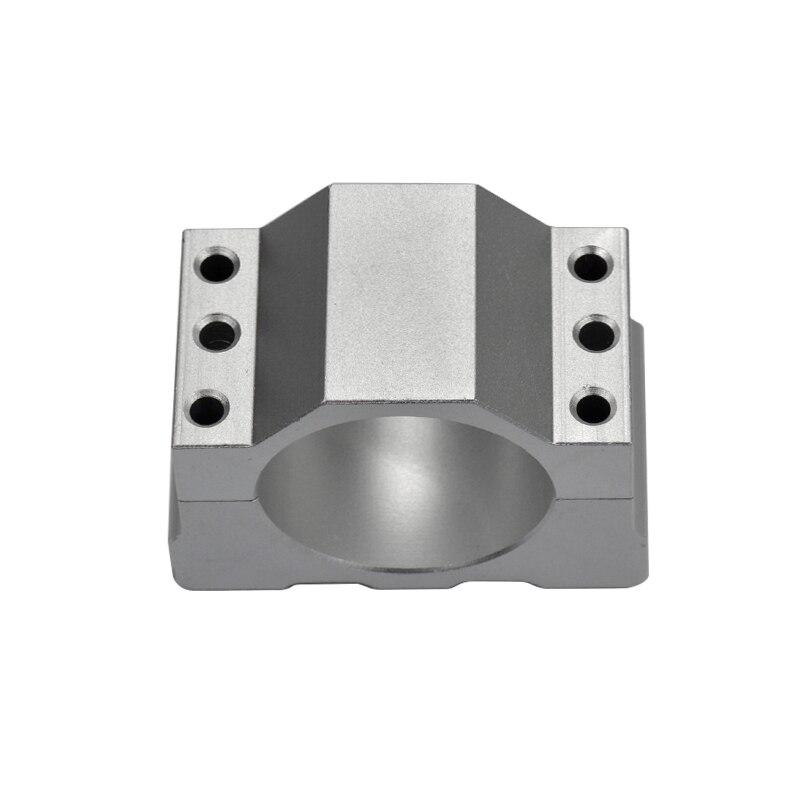 Aluminum Mold ER11 Spindle Motor Mount Bracket Clamp 55mm Diameter цена