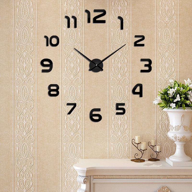 2019 Νέα Μέταλλο DIY Ρολόι Τοίχου - Διακόσμηση σπιτιού - Φωτογραφία 2