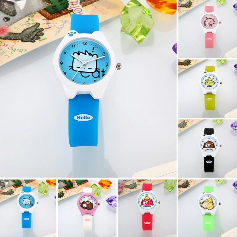 1pc cute cartoon Children Fashion Watch Women Boys girls Casual kids student Quartz Wristwatches clocks Silicone belt fashion H4 free shipping cute cartoon chick children watch girl kids student fashion leather sport analog quartz wristwatches relojes k1600