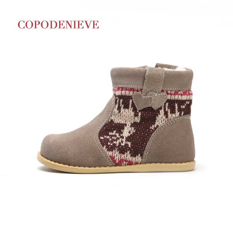 Image 3 - COPODENIEVE  winter warm baby shoes , fashion Waterproof children's shoes , girls boys boots perfect for kids accessories-in Boots from Mother & Kids