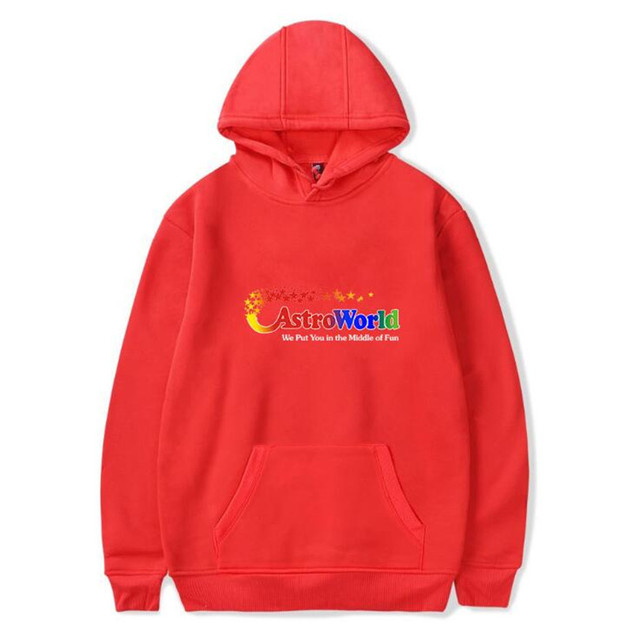 TRAVIS SCOTTS ASTROWORLD HOODIE (24 VARIAN)