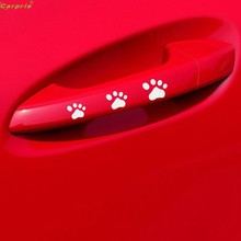 Cls Small DOG PAW Puppy Decal Sticker for Cars,Walls,Laptops, and other stuff July 12 5lower td130(China)