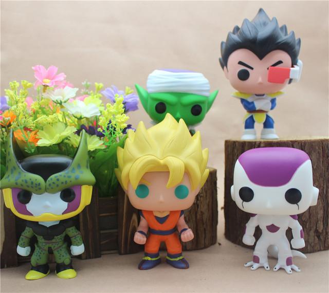Funko POP Mini Dragon Ball Anime Son Goku Piccolo Frieza Shahrukh Vegeta Vinyl PVC Collection Action Figure