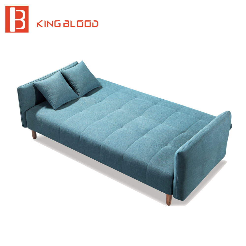 New design fabric sleeper movable sofa cum bed