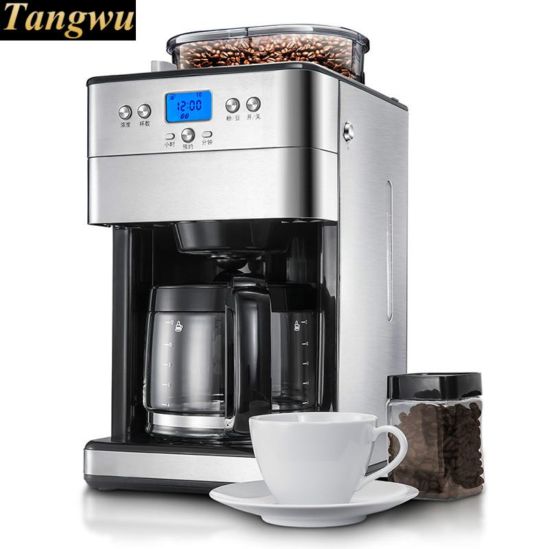 Commercial household full automatic ground bean coffee machine Картофель фри