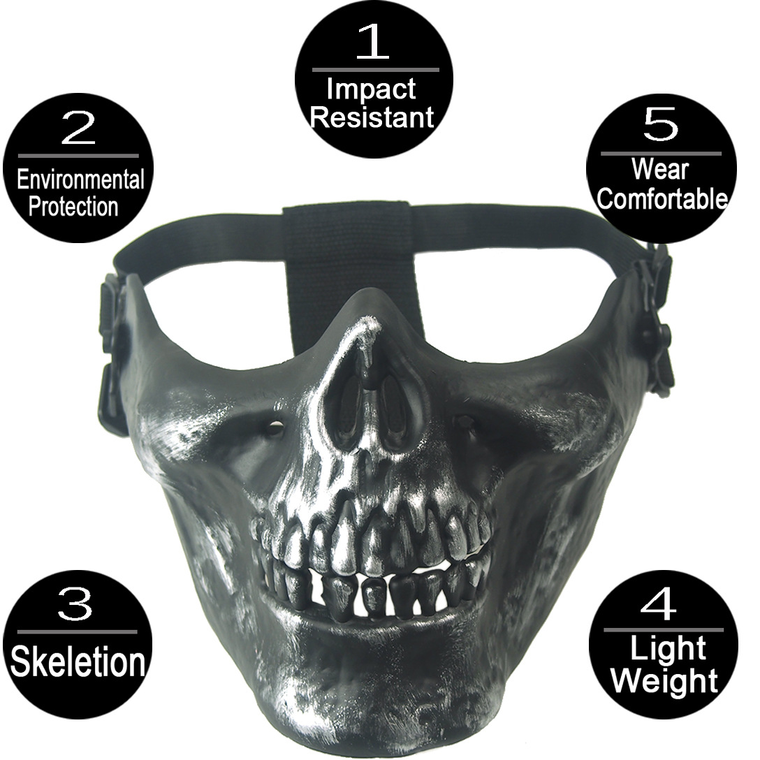 Aliexpress.com : Buy Ghost Camouflage Tactical Outdoor Skull Mask ...