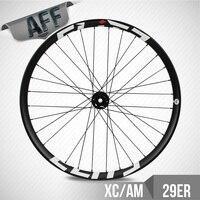 ELITE 29er Cross Country All Mountain Mtb Wheelset 35mm Width 26.8mm Depth Tubeless With DT350 Hub Mountain Bike Wheel