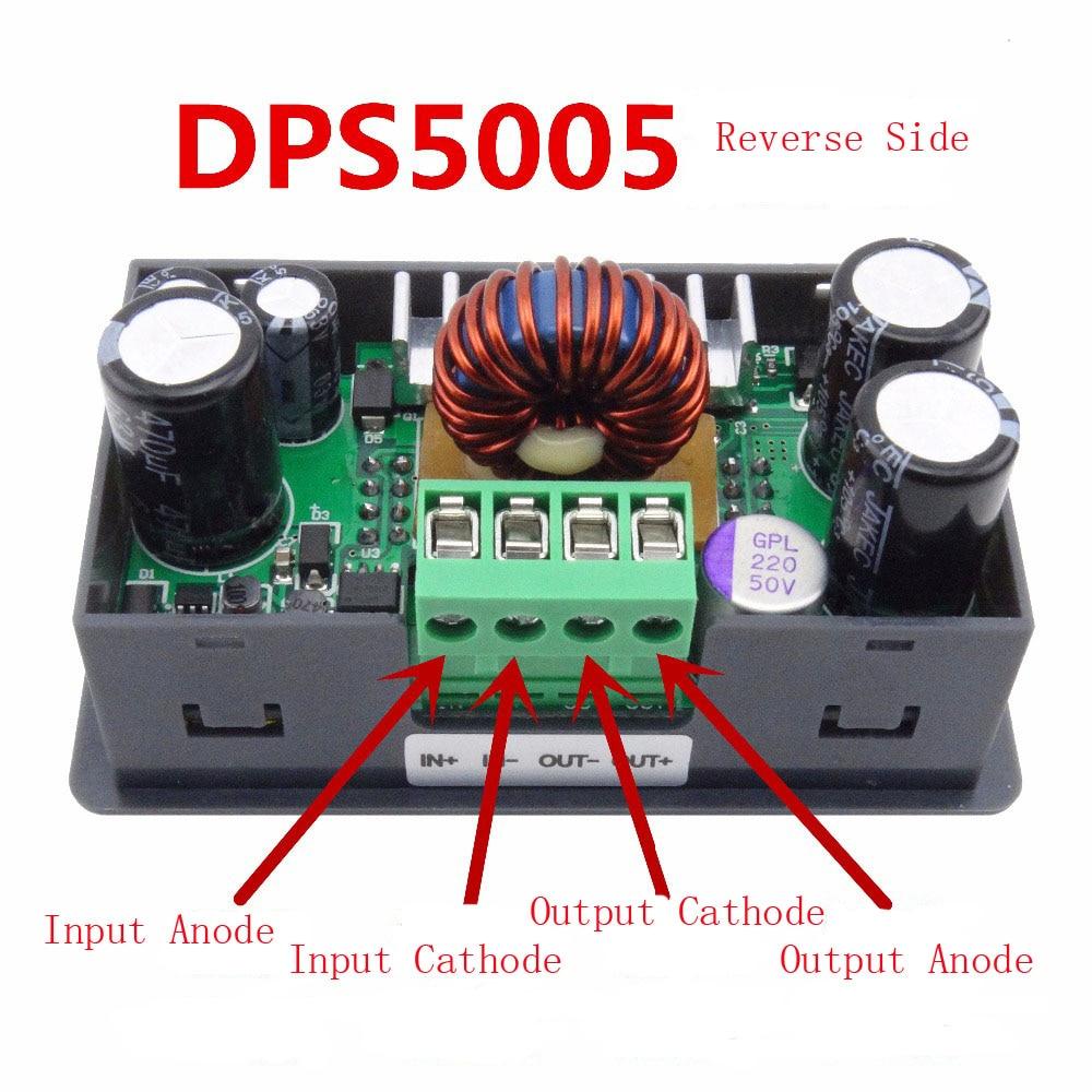 Lcd Converter Adjustable Voltage Meter Regulator 50v5a Programmable Adjustablecurrentlimitandoutputvoltage Powersupplycircuit Power Supply Module Buck Voltmeter Ammeter Current Tester