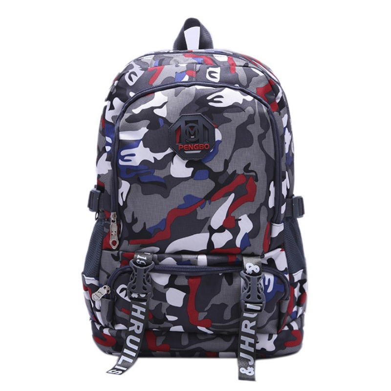 College Student Camouflage Backpack Boys Girls Large Capacity School Bags  Men Travel Laptop Bag Camo Mochila Waterproof Bookbag-in Backpacks from  Luggage ... dd23bdf065807