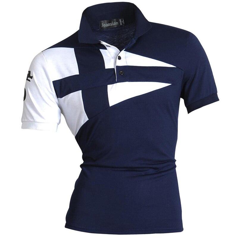 New 2017 Mens Summer Fashion Casual Polo Short Sleeves ...