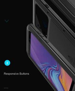 Image 2 - Per Samsung Galaxy A9 2018 custodia LOVE MEI antiurto resistente allacqua custodia protettiva in metallo per Samsung Galaxy A9s