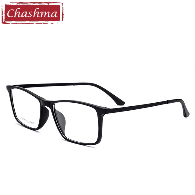 Chashma Merek Ultra Ringan Ultem Frame Plastik Titanium Wanita Eyewear Mens  Remaja Kacamata Optik Frame 6503b6f36b