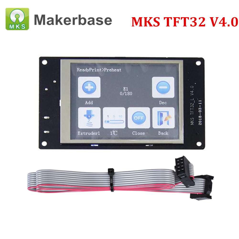 3D Printer Parts MKS TFT32 Touch Screen Smart Controller Display Control Panel 3.2-inch full-color Reprap MKS Gen v1.43D Printer Parts MKS TFT32 Touch Screen Smart Controller Display Control Panel 3.2-inch full-color Reprap MKS Gen v1.4