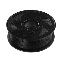 1.75mm 1KG/Roll Black Color PLA Carbon Fiber 3D Printer Filament for CR-10 / Ender-3 A8 Tornado Accessories