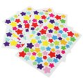 6 Sheets Self Adhesive Photo Album Craft Stickers Scrapbooking Diary Decorating-Star