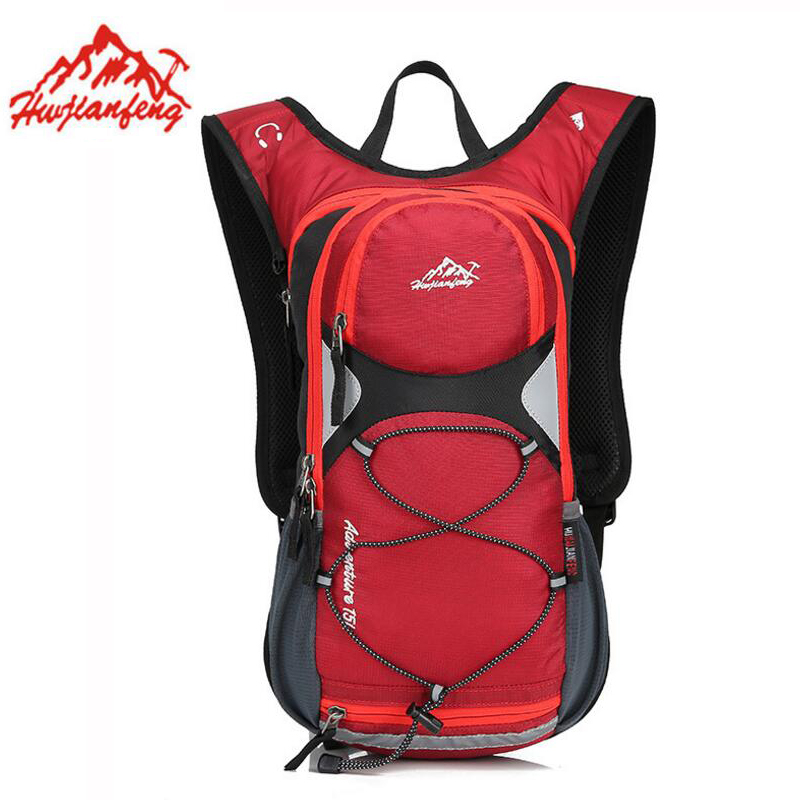 15L Riding Backpack Bicycle Bags Ultralight Running Rucksacks Outdoor Sports Bag Camping Climbing Hiking Cycling Bike Backpack