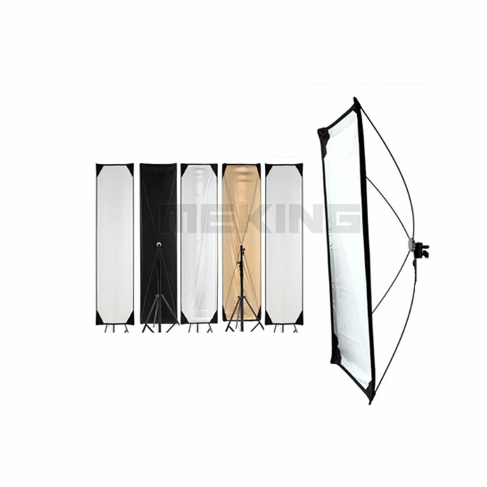 Meking 5in1 50*200cm 20-79inch Reflector photography square Light Control Panels System with fabrics Photo Studio Accessories photography light control panels system fabrics 5 in 1 lighting photo reflector 70 100cm 28 40inch