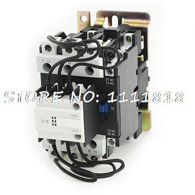 цена на CJ19-63 380V 50/60Hz Coil Voltage 3Phase 2NO 1NC Changeover Capacitor Contactor