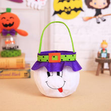 Halloween Kids Doll Candy Sweet Jar Box Children Storage Cans Party House Decor 2018 Hot Sale(China)