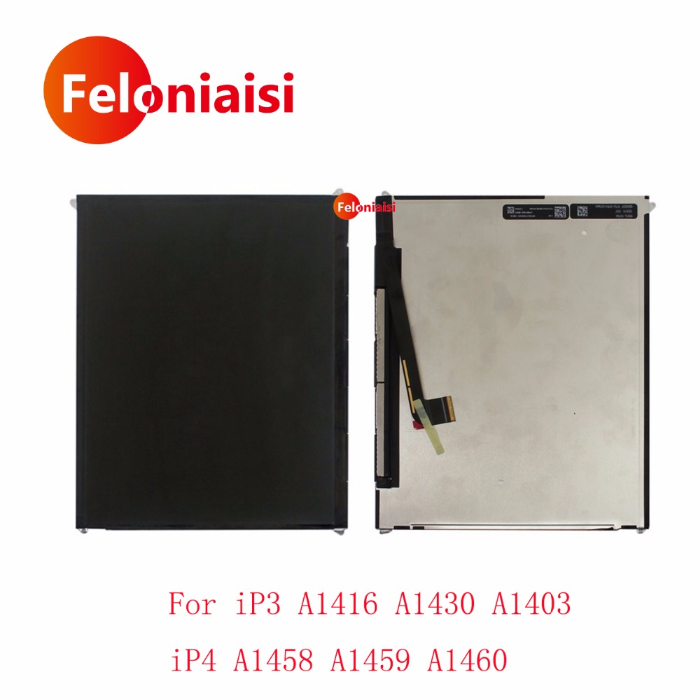 10Pcs/lot DHL EMS High Quality 9.7 For Apple iPad 3 iPad3 A1416 A1430 A1403 iPad 4 Ipad4 A1458 A1459 A1460 Lcd Display Screen 2 lots us $ 11 piece lcd screen display for htc g5 t8188 nexus one n1 10pcs lot free shipping by dhl ems