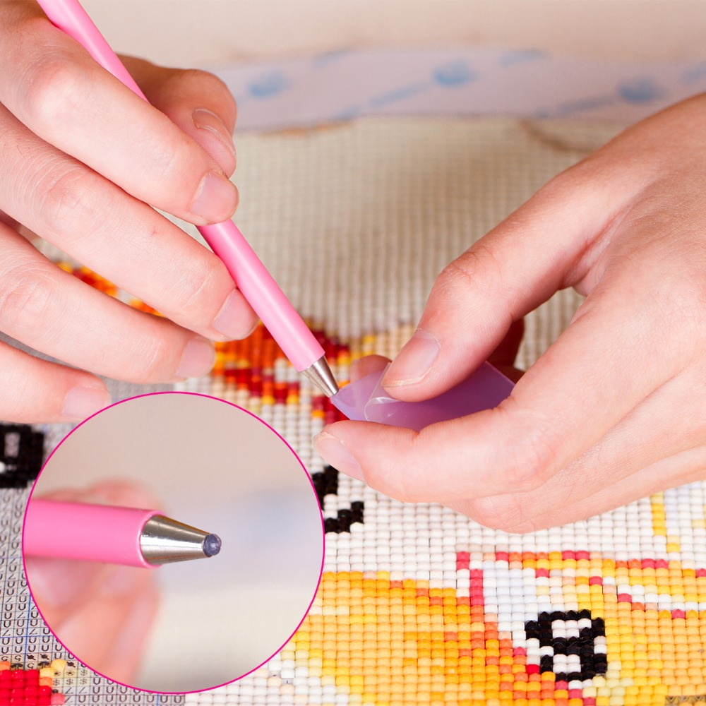 Fezrgea Nya DIY 5D Diamond Broderi Korsstygn Dream Elk Full - Konst, hantverk och sömnad - Foto 5