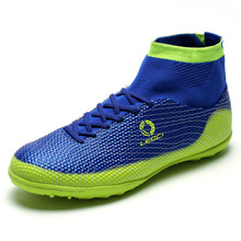 Professional Colorful Soccer Cleats with High Ankle
