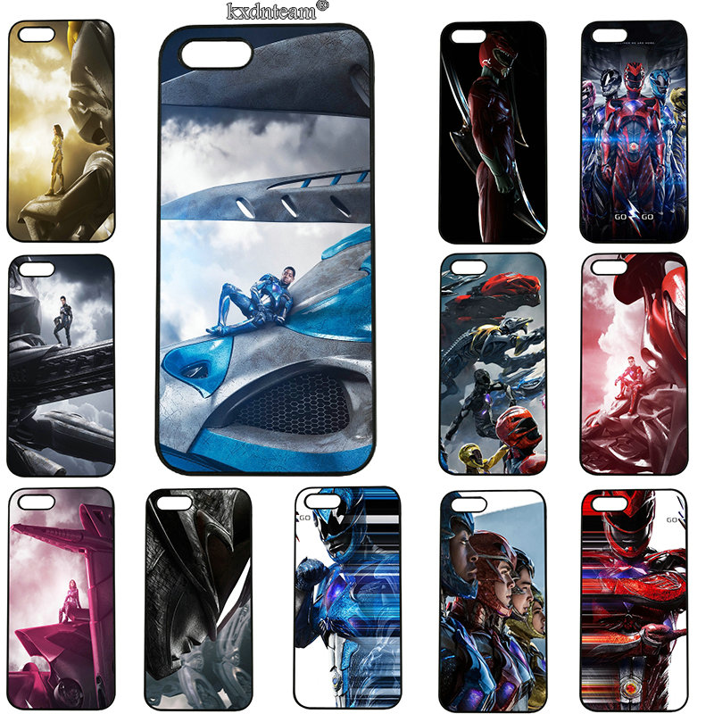 For iphone 8 7 6 6S Plus X 5S 5C 5 SE 4 4S iPod Touch 5 6 Shell Power Rangers Mobile Phone Cases Hard PC Plastic Cover
