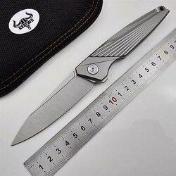 Feiying pieghevole coltello a lama D2 titanium maniglia coltelli da tasca di campeggio tattica di caccia flipper di sopravvivenza regalo portatile della lama di edc