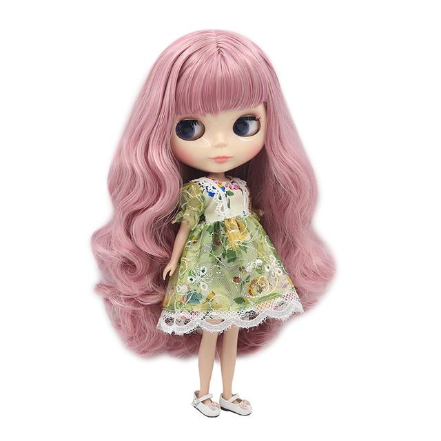 Neo Blythe Doll Green Lace Dress