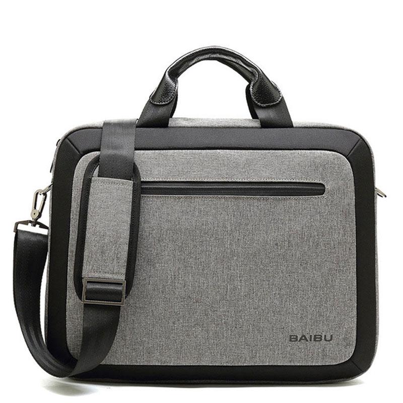 Men Bag Waterproof Laptop Briefcase Business Shoulder Crossbody Bags Big Messenger Bag Handbag Multifunction Tote Bags XA181ZC