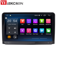 9 Automotive Multimedia Player Double 2Din Head Unit GPS Navigation For VW Android 6 0 Quad