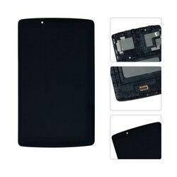 8 ''dla LG G Pad F 8.0 V495 wyświetlacz LCD ekran dotykowy wymiana Digitizer zgromadzenia z ramą